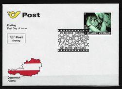 """ÖSTERREICH - FDC Mi-Nr. 3034 - 50 Jahre Filmfestspiele """"Viennale"""", Wien - FDC"""
