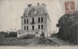 50 - BARNEVILLE-SUR-MER - CPA - Le Château - Barneville