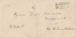 Preussen Brief R2 Barleben 30.9. Gel. Nach Kl. Amersleben - Preussen