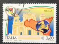 2008 Nr 3037 Regioni D'Italia - Sicilia 0,60 € -- Vedi Foto - 6. 1946-.. Repubblica