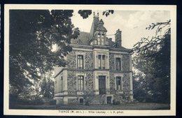 Cpa Du 49 Tiercé -- Villa Launay JIP87 - Tierce