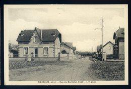 Cpa Du 49 Tiercé -- Rue Du Maréchal Foch  JIP87 - Tierce