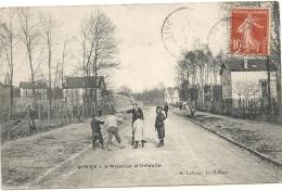 Givry L'avenue D'orleans écrite 1917 Lot 804 - Otros Municipios