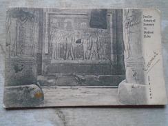 D144858 Egypt Egypte - Smaller Temple Of Rameses III. Medinet Habu   Ca 1900 - Egypt