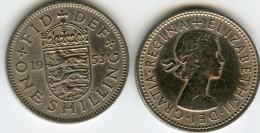 Grande Bretagne Great Britain 1 Shilling 1953 Angleterre KM 890 - I. 1 Shilling