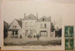 CPA-20 - THILOUZE - PLACE DE L'HOTEL DE VILLE - Autres Communes