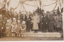57 - THIONVILLE - 30.01.1919 - Maréchal PETAIN Inaugurant L'avenue Portant Son Nom - CARTE PHOTO - Thionville