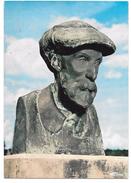 10 - ESSOYES (Aube) - Sur Sa Tombe, Buste De Renoir Par Guinot - Ed. Cim Combier - 1988 - Essoyes