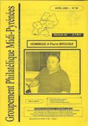 Bulletin Du Groupement Philatélique De Midi   Pyrénée N:96  Avril  2004 - Frans