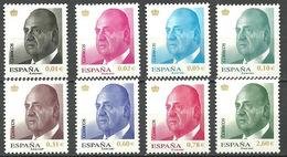 ESPAÑA 2008.- . SERIE BASICA JUAN CARLOS I ** MNH - 1931-Today: 2nd Rep - ... Juan Carlos I