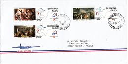 LETTRE COVER  BURKINA FASO REVOLUTION FRANCAISE - French Revolution