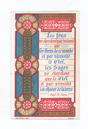 Citation De Paul IV, Pape, Enluminure, 1883, éd. Bouasse-Lebel - Images Religieuses