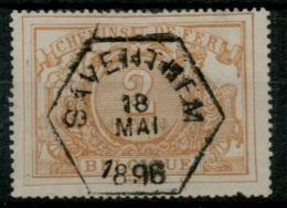 FEH-2319  SAVENTHEM    Ocb TR  14 - Gebraucht