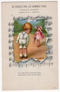 Illustrateurs 10 - A. BERTTIGLIA  -  Ne Rendez Pas Les Hommes Fous - Enfants - Musique - F.L. Bénech - Bertiglia, A.
