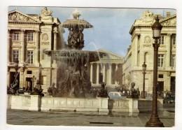 CP 10*15-RIS13-PARIS FONTAINE PLACE DE LA CONCORDE 1968 - Arrondissement: 08