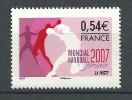 """FR YT 4118 """" Hanball Féminin """" 2007 Neuf** - France"""