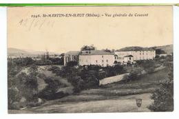 CPA-69-St-MARTIN-en-HAUT-VUE GENERALE DU COUVENT- - France