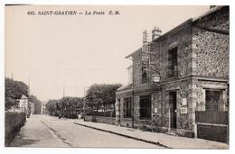CPA - SAINT-GRATIEN - LA POSTE - N/b - Vers 1910 - - Saint Gratien