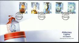 Alderney 2002 / Lighthouses Lamps / Lights - Alderney
