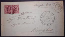 ANNULLI NUMERALI SICILIA: NUMERALE CASTELTERMINI Agrigento - Storia Postale