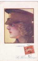 Cpa-ang-les Femmes Heroiques / The Heroic Women  War 1914-illustrateur Emile Dupuis - Personnages