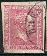 Stamp German States PRUSSIA 1858-60 1sg Used Lot40 - Preussen