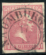 Stamp German States PRUSSIA 1858-60 1sg Used Lot46 - Prusse