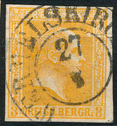 Stamp German States PRUSSIA 1858-60  3sg Used Lot78 - Preussen