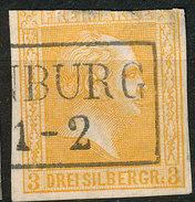 Stamp German States PRUSSIA 1858-60  3sg Used Lot81 - Preussen
