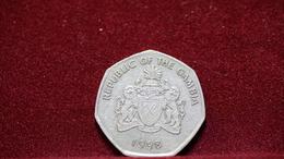 Gambia 1 Dalasi 1998 Km#59 (inv618) - Gambia