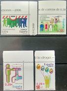 Spain, 2006, ED 4225-28, Mi. 4118-21, Sc. 3401-04, SG 4162-65, Civic Values, MNH - 2001-10 Unused Stamps