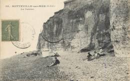 """/ CPA FRANCE 76 """"Sotteville Sur Mer, Les Falaises"""" - Sotteville Les Rouen"""