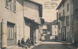 39 - GIGNY - Jura - Rue Du Village - Frankrijk