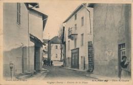 39 - GIGNY - Jura - Entrée De La Place - Frankrijk