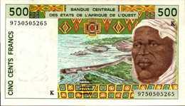 SENEGAL 500  FRANCS De 1997  Pick 7010g  AU/SPL - Senegal