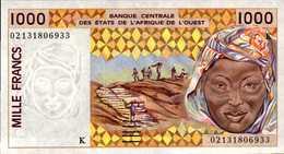 SENEGAL 1000  FRANCS De 2002  Pick 711l  UNC/NEUF - Senegal