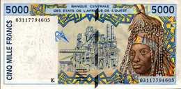 SENEGAL 5000  FRANCS De 2003 Pick 713m  AU/SPL - Senegal