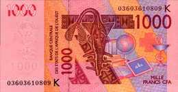 SENEGAL 1000  FRANCS De 2003 Pick 714h Et 2000 De 2003 Pick 715a   UNC/NEUF - Senegal