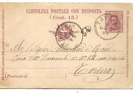 STATIONERY  1894 LAVELLO - 1878-00 Humbert I