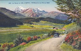 65-----la Route Du COL D'ASPIN--PAYOLLE Et Le Pic Du Midi----voir 2 Scans - France