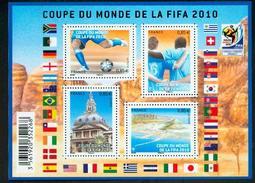 France 4481 4484 F Coupe Du Monde De Football Neuf TB ** MNH Sin Charnela Prix De La Poste  3.4