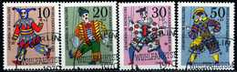 BRD - Michel 650 / 653 - OO Gestempelt (I) - Marionetten, Wohlfahrt 70 - [7] République Fédérale