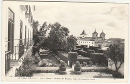 Vila Viçosa :: Paço Ducal :: Jardim Do Bosque, Visto Dos Quartos Reais (dobras Ligeiras à Esquerda) - Evora