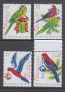 Norfolk Island 2010 Christmas, Birds, Parrots MNH - Uccelli