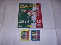 Panini / ALBUM  CALCIATORI 2011-12 + FILM CAMPIONATO - Football