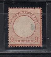 Dt.Reich Grosser Brustschild MiNo.27 (*) Ungebraucht Ohne Gummi, Siehe Beschreibung (200.-)