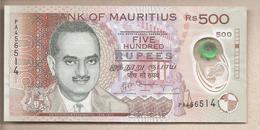 Mauritius - Banconota Circolata QFdS Da 500 Rupie - 2013 Polimero - Mauritius