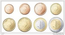@Y@  Nederland    Serie  2016   1 Ct - 2 Euro   UNC  8  Munten - Paesi Bassi
