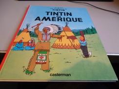 TINTIN EN AMERIQUE - Tintin