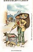 CHROMO CHCOCOLAT LOUIT SIGNEE BORGEX CHIFFONNIER - Louit